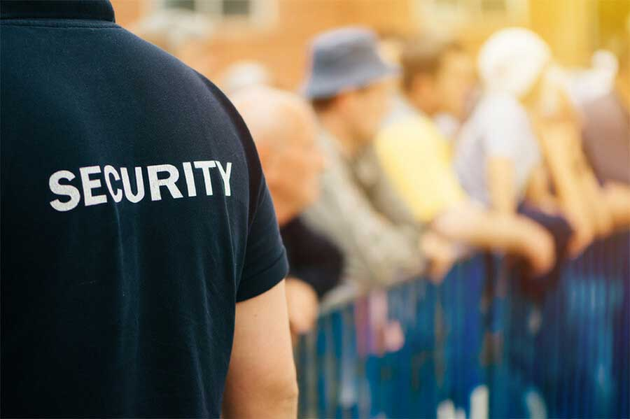outdoor event security