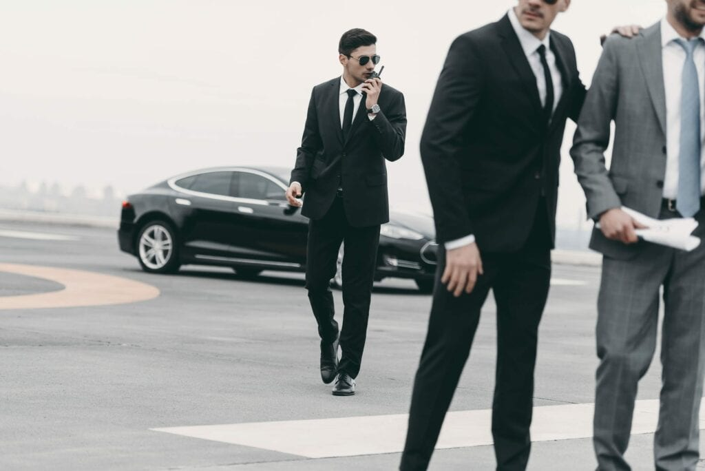 Bodyguard for hire in San Francisco